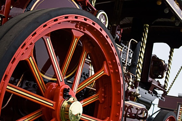 a beautifull old engine - miscellaneous