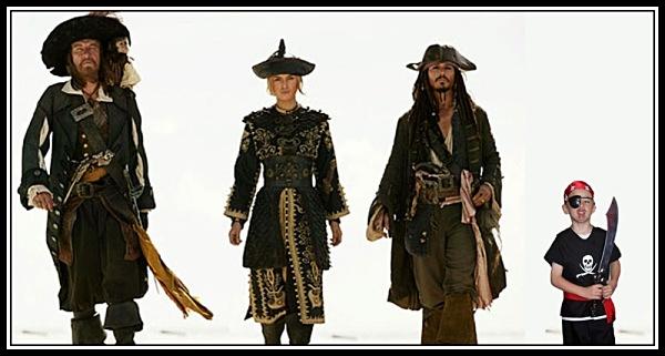pirates - Photoshop Work