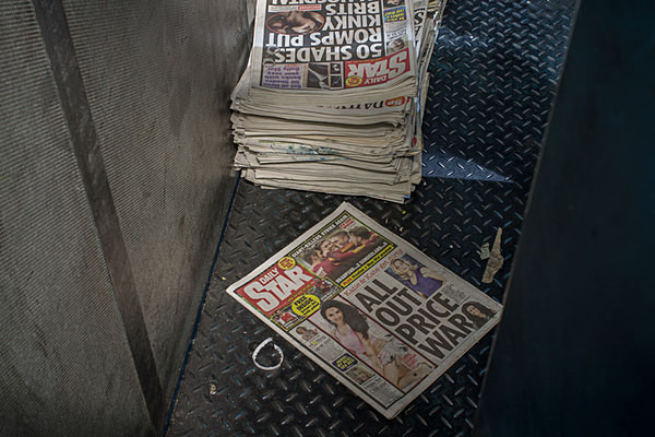 Broughton Printers Fulwood Urbex Urban Exploration Daily Star Daily Express Lancashire Evening Post