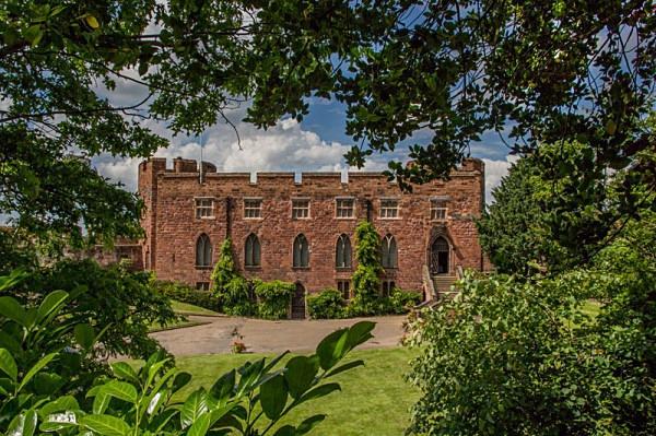sabrina godess of the severn shrewsbury shropshire river severn the dingle shrewsbuy castle charles darwin