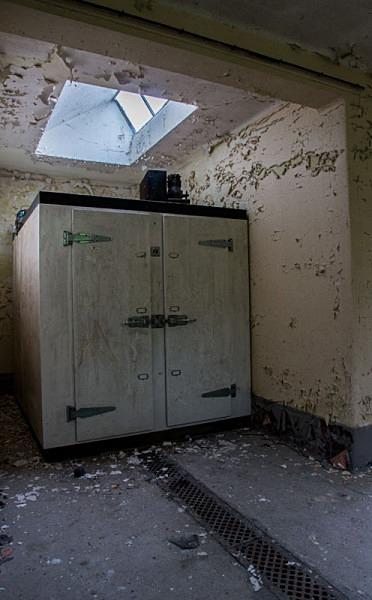 Maiden Law Hospital Morgue  Durham urbex urban exploration