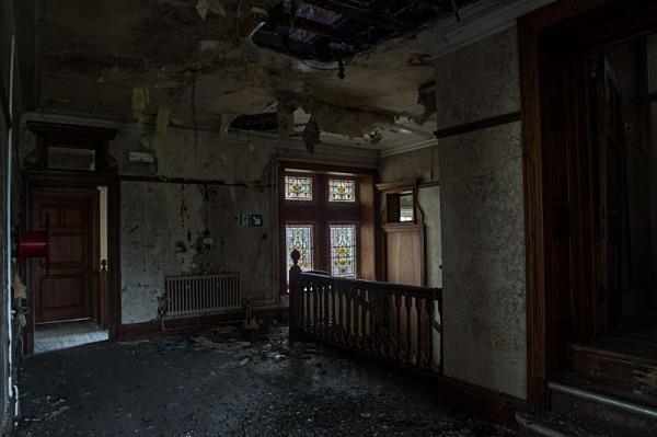 High Royds Hospital asylum urbex urban exploration hospital West Riding Pauper Lunatic Asylum peter costello  High Royds asylum