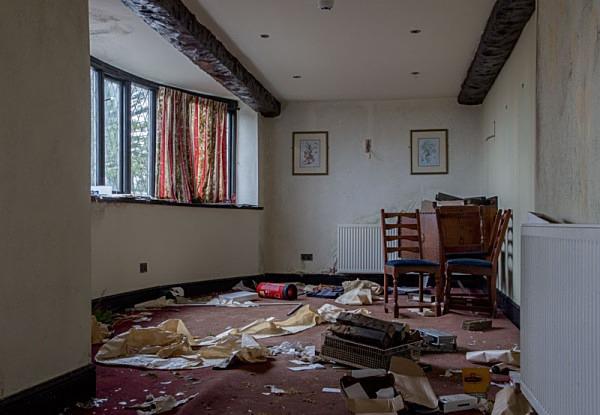 The Moorcock Inn Hotel and Resteraunt moorcock urbex urban exploration slaidburn waddington ribble valley petercostellophotography.com moorcock inn