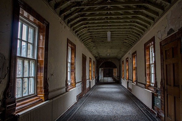 High Royds Hospital asylum urbex urban exploration hospital West Riding Pauper Lunatic Asylum peter costello  High Royds asylum