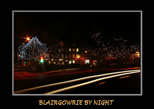 blairgowrie by night