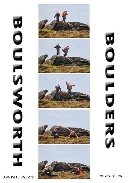 boulsworth boulders - Photoshop Work