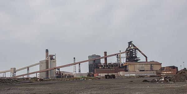 Redcar Steel Works blast furnace Teeside ssi tata steel corus The Redcar steel plant in Teesside Teesside Steelworks urbex urban exploration