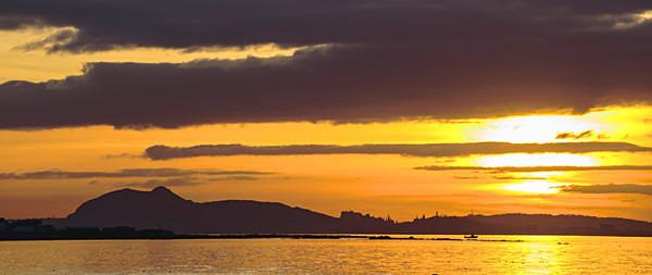 Auld Reekie Skyline from Longniddry - Edinburgh (Auld Reekie)