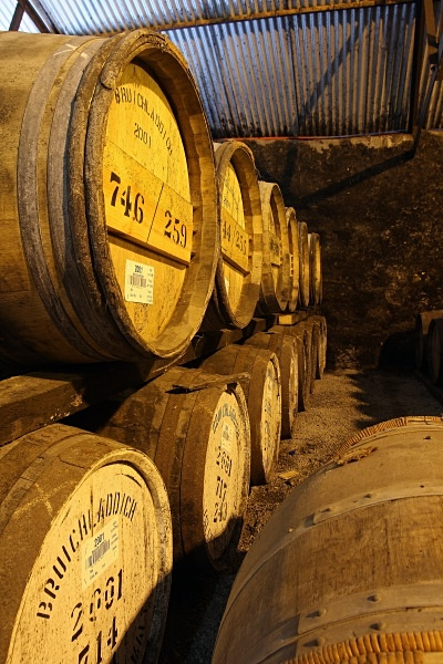 Casks of Bruichladdich - Whisky