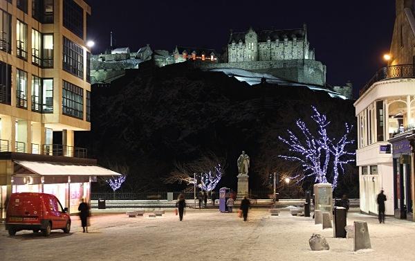 Castle Street - Edinburgh (Auld Reekie)