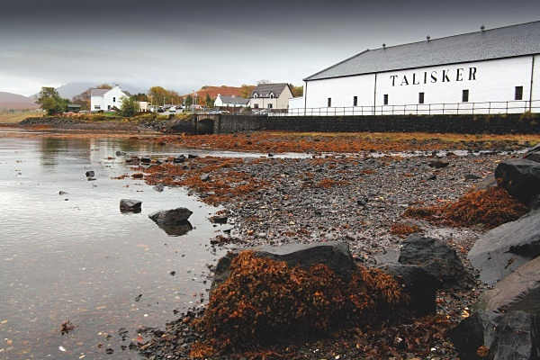 Talisker distillery at Carbost - Isle of Skye