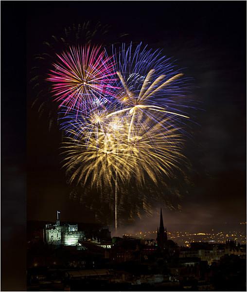 Festival Fireworks 3 - Edinburgh (Auld Reekie)