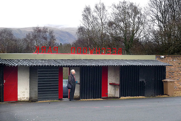 Gate Man at Sauchie - Sporty stuff