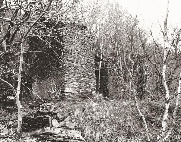 HOUSE AT CWM RHEIDOL MINES, Cwm Rheidol, Ceredigion 2012 - CEREDIGION FARMHOUSES