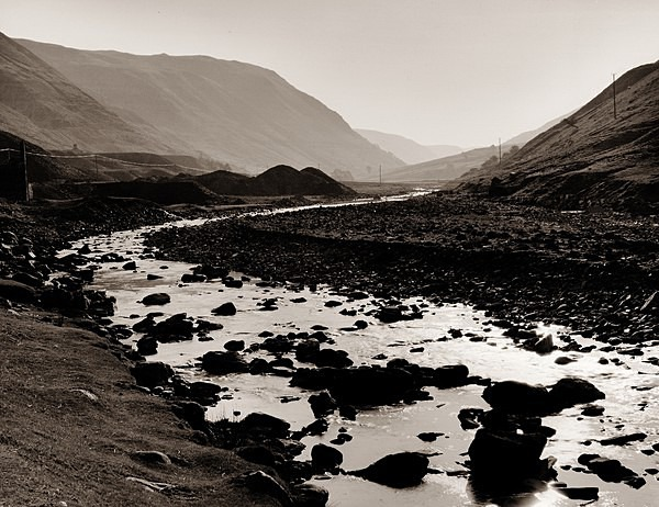 CWMYSTWYTH MINES, Ceredigion 1998 - THE WELSH LANDSCAPE