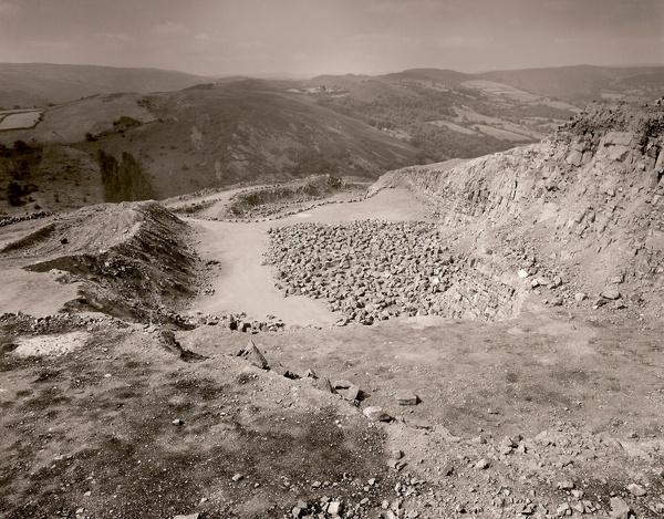 CERRIG GWYNION QUARRY, Rhayader, Powys 2000 - THE WELSH LANDSCAPE - MOSTLY IN CEREDIGION