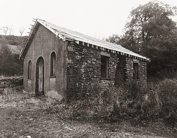 SCHOOL HOUSE / CHAPEL FFLUR, Pontrhydyfendigaid, Ceredigion 2011 - OTHER TYPES RUINS IN CEREDIGION