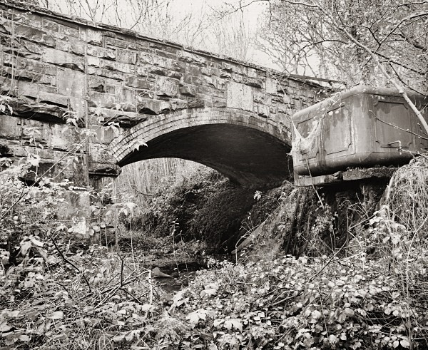 LLANIO BRIDGE & WATER TANK, Llanio, Ceredigion 2014 - OTHER WELSH RUINS