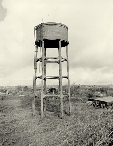 WATER TOWER, Pennard, Gower 2018 - THE GLAMORGANS