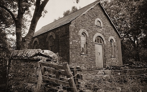 CWM-MOIRO CHAPEL, Ceredigion 1999 - OTHER WELSH RUINS