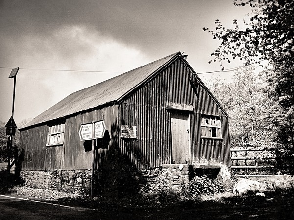 OLD SHOP, Penuwch, Ceredigion 2014 - OTHER TYPES RUINS IN CEREDIGION