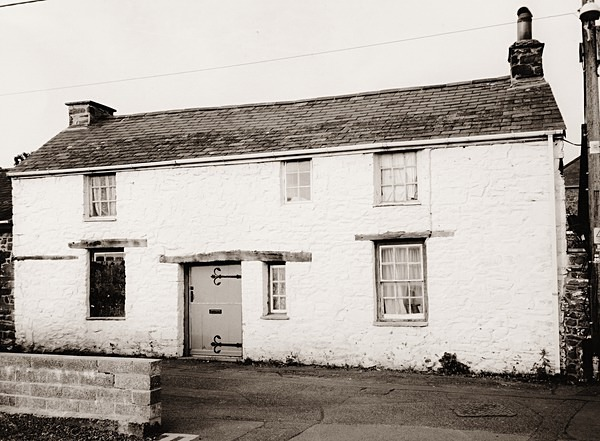 THE COTTAGE (15 Market Street), Aberaeron, Ceredigion 2014 - OTHER WELSH RUINS