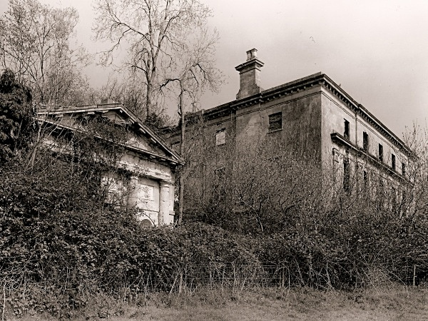 PIERCEFIELD HOUSE ( view of side pavilion), St Arvan's, Gwent