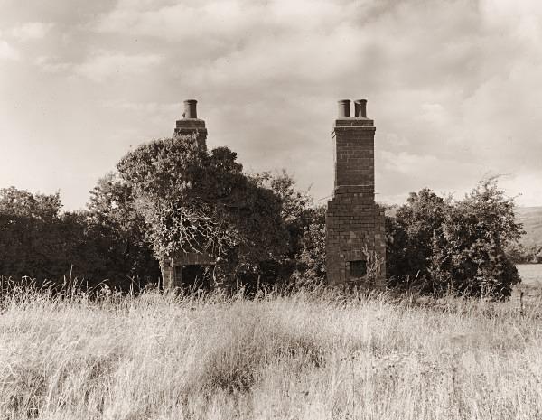 UNKNOWN HOUSE beside Penbontbren-Mochno, Llancynfelyn, Ceredigion 2000 - CEREDIGION FARMHOUSES