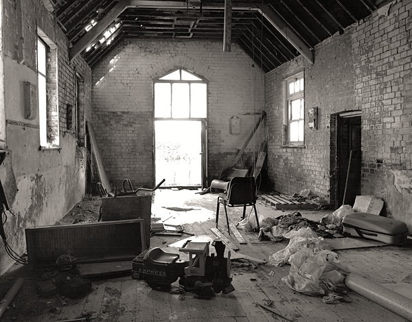CASTELL FLEMISH SCHOOL HOUSE, Tynreithyn, Ceredigion 2012 - OTHER WELSH RUINS