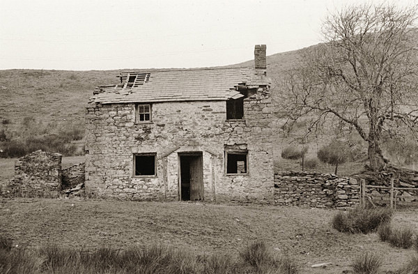 UNKNOWN HOUSE, Unknown Location, Ceredigion 1989 - CEREDIGION FARMS & COTTAGES