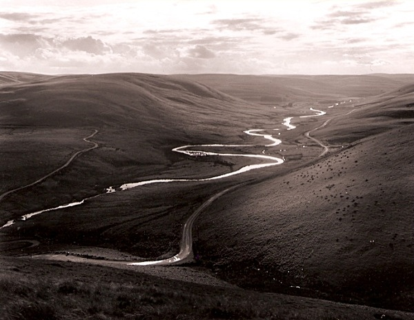 MEANDERING RIVER ELAN, Bont Elan, Rhayader, Powys 2009 - THE WELSH LANDSCAPE