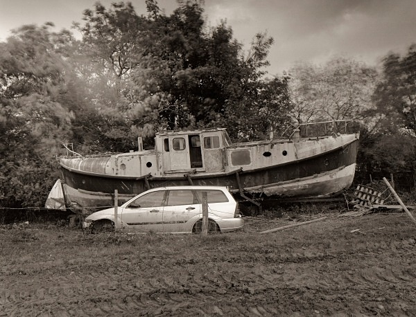 Boat, Oakford, Ceredigion 2012 - OTHER TYPES RUINS IN CEREDIGION