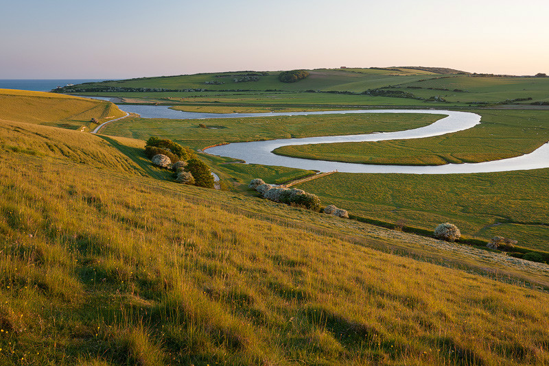 Meander, Cuckmere Haven - Land