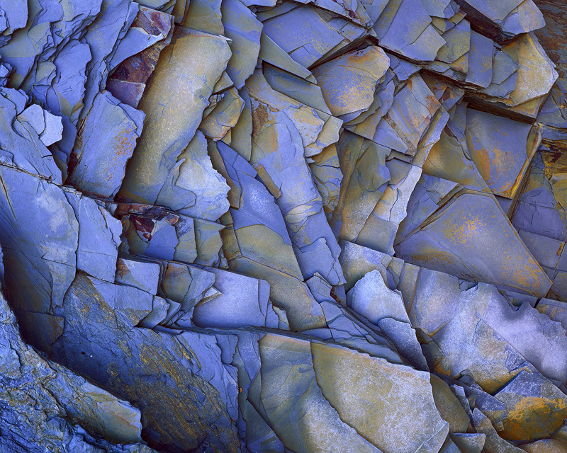 Fractured Slate - Close Up