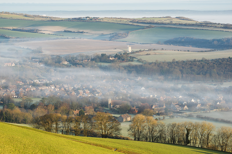 Mist over Kingston - Land