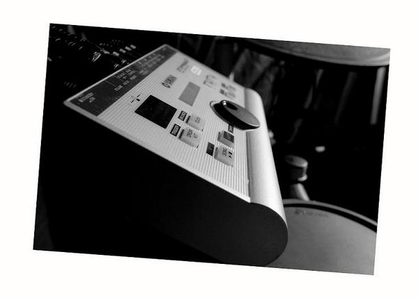 Yamaha Rosewood 2 - Sketches in B & W