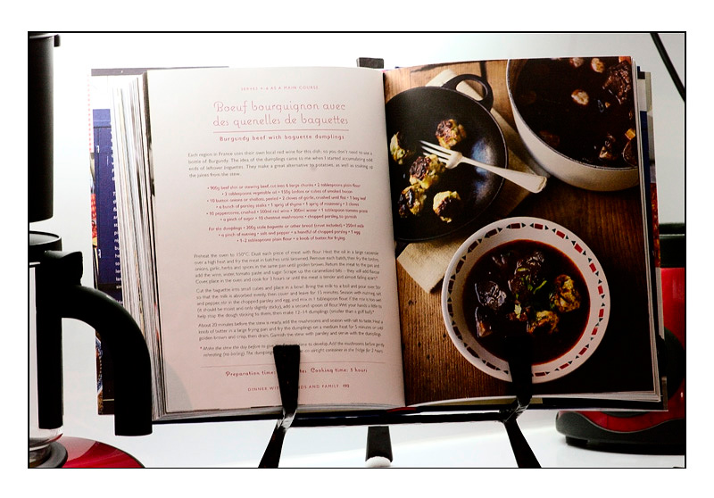 The Coffee Maker and The Cookbook - Still Life