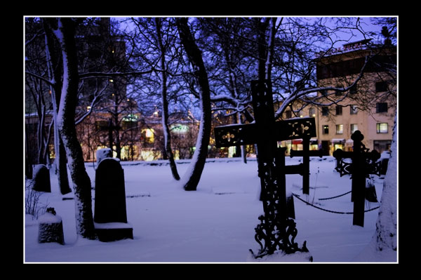 Christmas / The Old Cemetary 2 - Lappeenranta