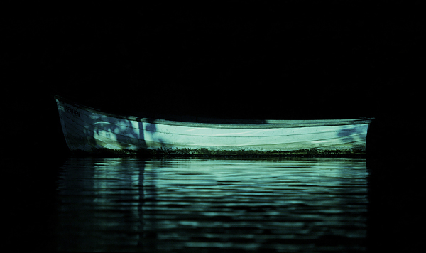 A Row Boat - Abstract and Creative