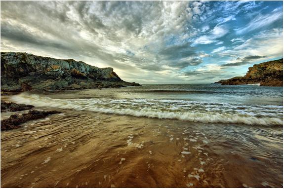 Porth Dafarch Beach - North Wales Landscapes