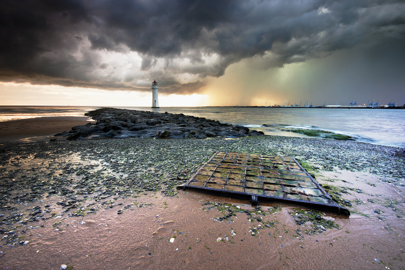 Wet Wednesday - Wirral Landscapes