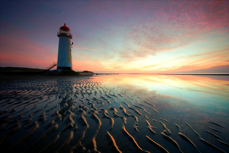 Talacre Lights - North Wales Landscapes