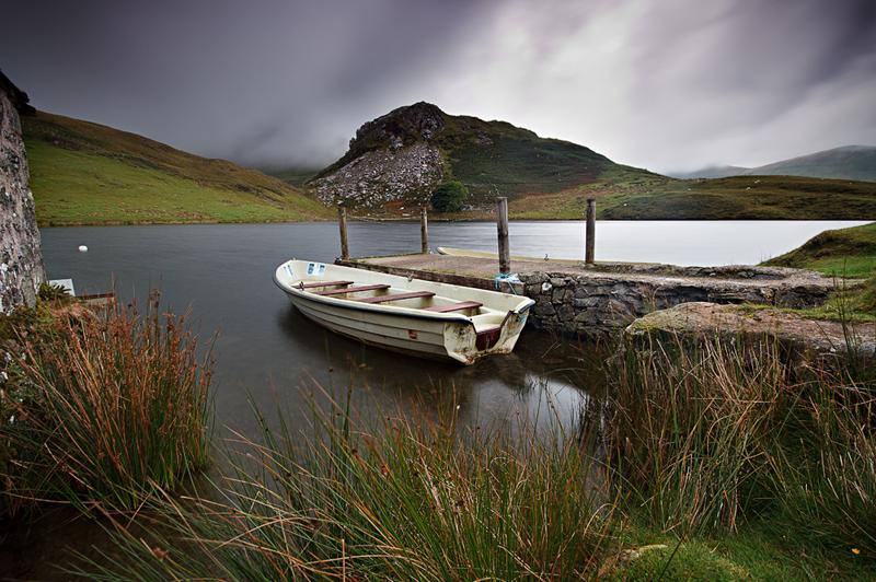 Melancholy Mooring - North Wales Landscapes