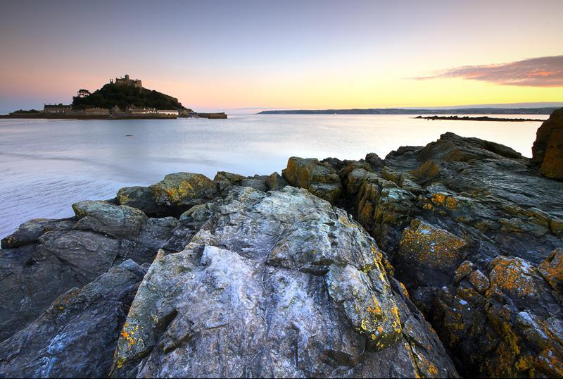 Pastels over penzance - Devon & Cornwall Landscapes