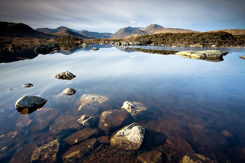 Loch Nah Achlaise - Scotland Landscapes