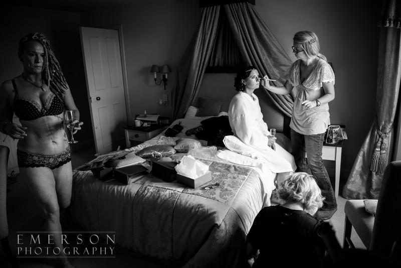 Elegant documentary wedding photography by Jamie Emerson