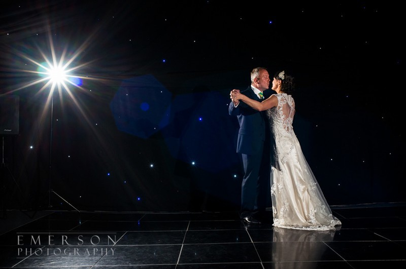 Classy first dance wedding photo