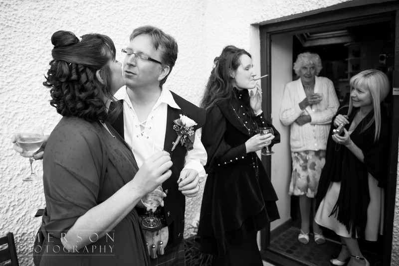 Stein boat house wedding skye, emerson photography
