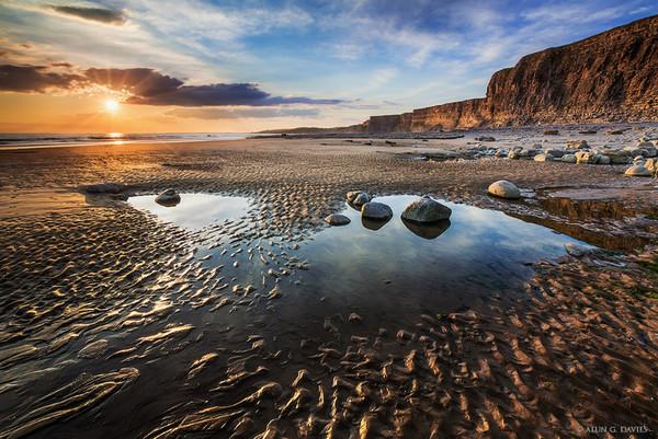Traeth Mawr 6 - Arfordir De Cymru / S. Wales Coast