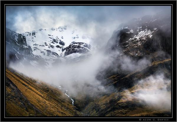 Stob Coire Nan Lochan ac Aonach Dubh - Yr Alban / Scotland